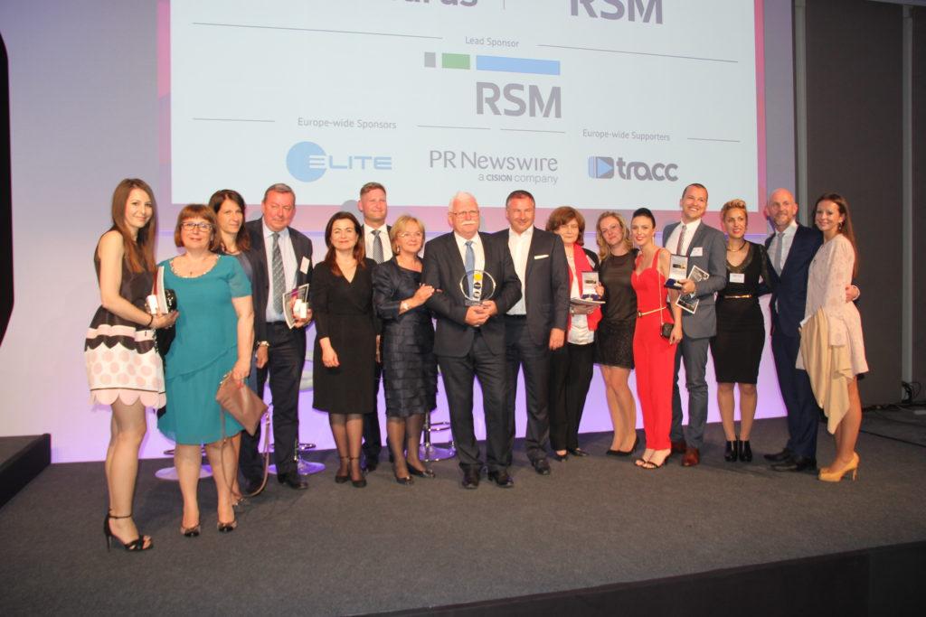 Dodjela European Business Awards (EBA) nagrade u Dubrovniku, 2017. godine pod pokroviteljstvom RSM-a