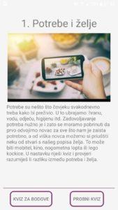 Financijska pismenost osnovnoškolaca - aplikacija