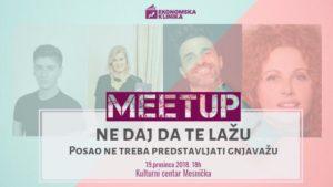 MeetUp - Ekonomska klinika